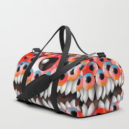 Eyeball Monster Duffle Bag