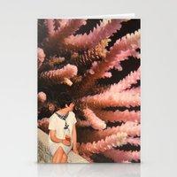 aquarius Stationery Cards featuring Aquarius by Djuno Tomsni