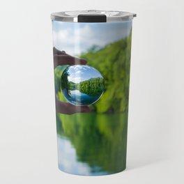 Lensball Landscape, Dale Hollow Travel Mug