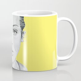 Lady Portrait Coffee Mug