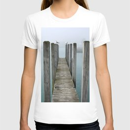 Gulls on Dock T-shirt