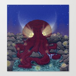 Night at the Octopus House Canvas Print