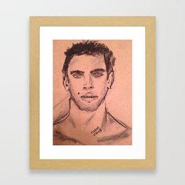Tuccio Framed Art Print