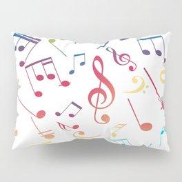 Musical Notes 5 Pillow Sham