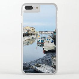 Low Tide Clear iPhone Case