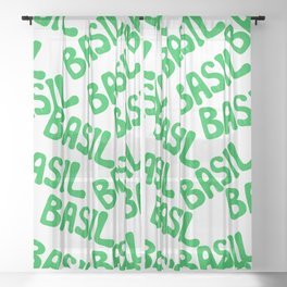 BASIL Sheer Curtain