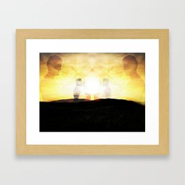 Strandhill Moments Framed Art Print