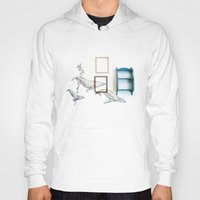 whales Hoodies featuring Whales by Spirit Tooth