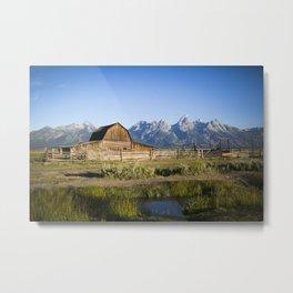 Mormon Row Grand Tetons Metal Print