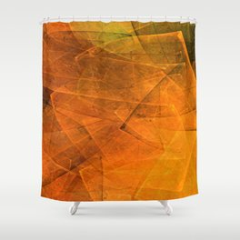 Many-faceted... Shower Curtain