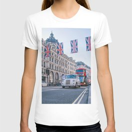 London England Street (Color) T-shirt