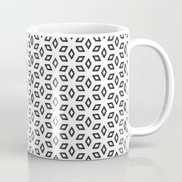 Geometric Petals Light Coffee Mug
