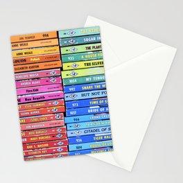 Rainbow Vintage Harlequin Books Stationery Cards