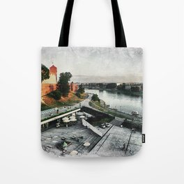 Cracow art 8 Wawel #cracow #krakow #city Tote Bag