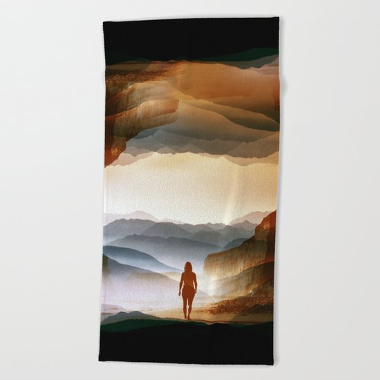 Quiet Heat Beach Towel