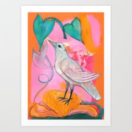 Song of the Dove Art Print