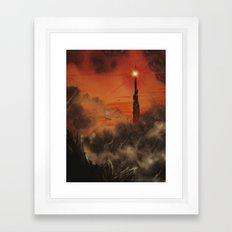Mordor Framed Art Print