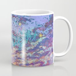 Neon Moon Night Coffee Mug