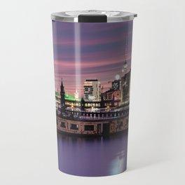 Berlin Purple Travel Mug
