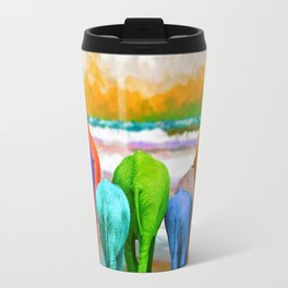 Family Walk Travel Mug
