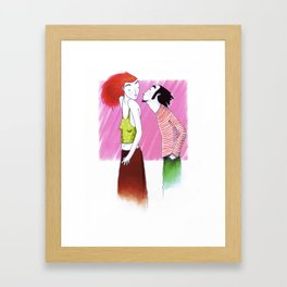 #34 Framed Art Print