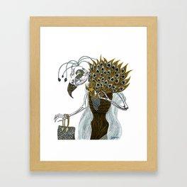 Culture Vulture Framed Art Print
