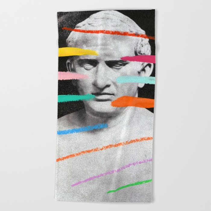 Composition 525 Beach Towel