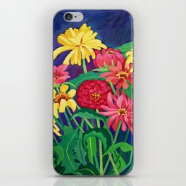 Zinnias iPhone Skin