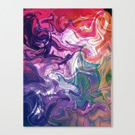 digitally fluid Canvas Print