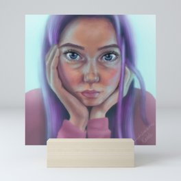 Strawberry Sherbert Mini Art Print