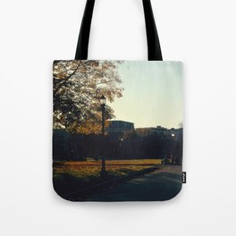 Falling Out Tote Bag