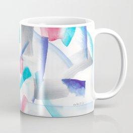 180719 Koh-I-Noor Watercolour Abstract 37| Watercolor Brush Strokes Coffee Mug