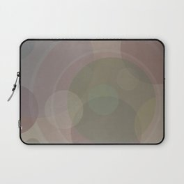 Circles Slate and Agate Laptop Sleeve