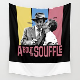 A Bout de Souffle Wall Tapestry