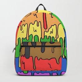 Cute Pride Pastel Melting Pride Design, 2018 pride flag Backpack