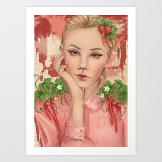 Astrella Art Print