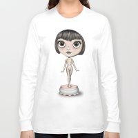 ballerina Long Sleeve T-shirts featuring Ballerina by Giada Engelke-Oelbracht