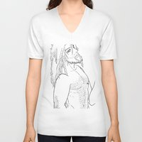 "fili V-neck T-shirts featuring Fili "" the hobbit"" by Selis Starlight"