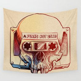 Audio Skull Wall Tapestry