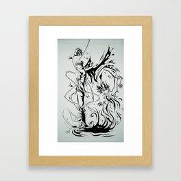 The Rose Trap Framed Art Print