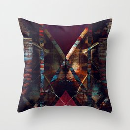 disquiet eleven (luxação) Throw Pillow