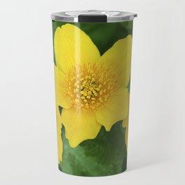 Marsh Marigold Caltha Palustris Travel Mug