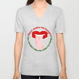 Hungry Unisex V-Neck