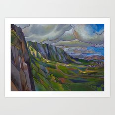 Windward Passage Art Print