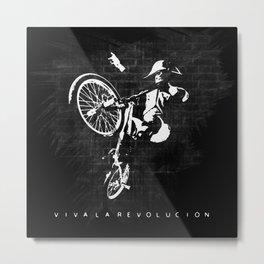 Viva La Revolucion - Napoleon Bonaparte Bmx Metal Print