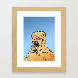 CLEAR THE AIR. Framed Art Print