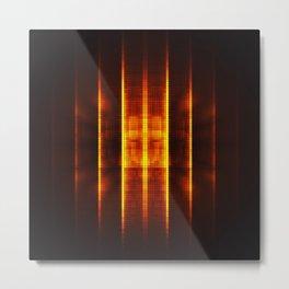 Fractality - Pixelate Metal Print