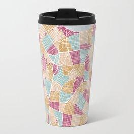 Habana map Travel Mug