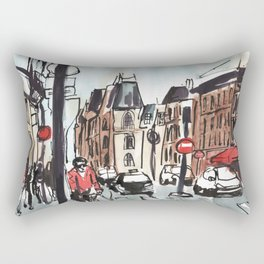 Paris in the Afternoon Rectangular Pillow