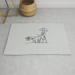 The Dog Walker Rug